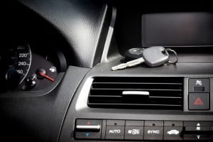 Car keys locked inside the vehicle