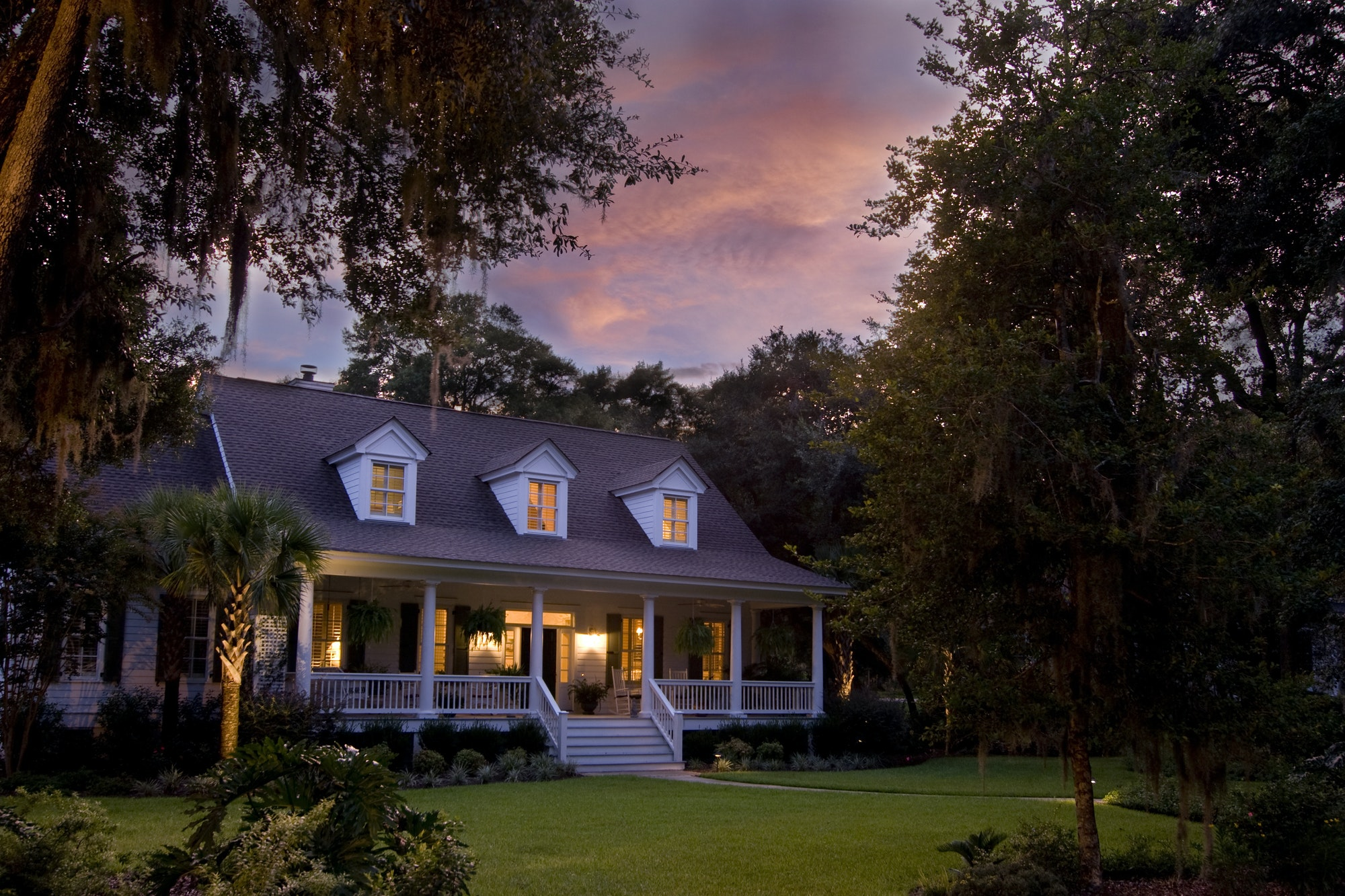 Porch lights - natural protection to your home