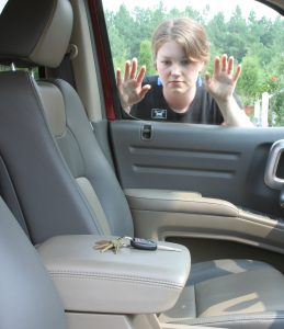 Locked out of the car, keys left inside the vehicle. Need locksmith for cars.