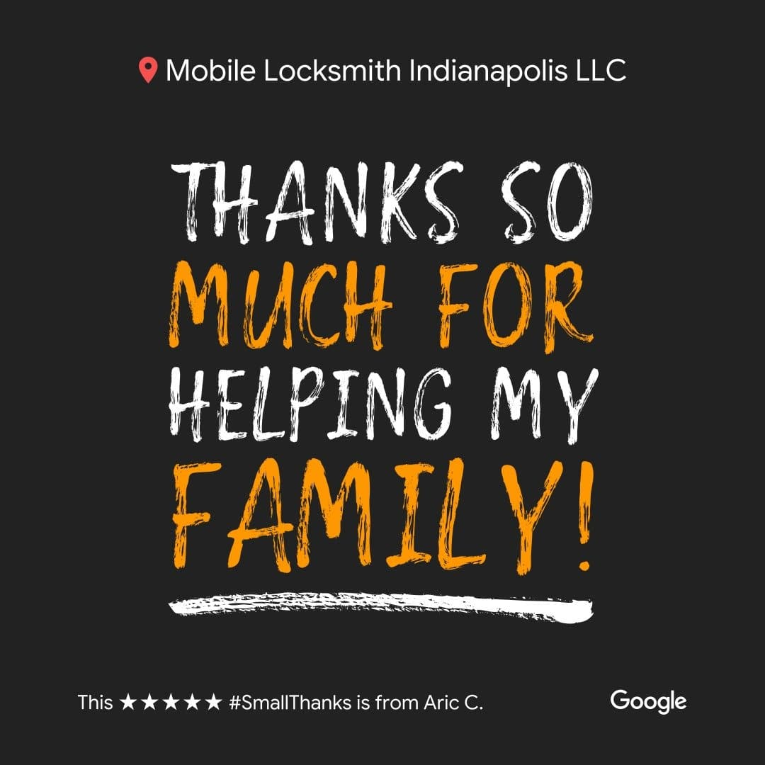 Thanks so much for helping my family